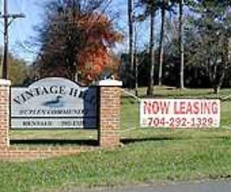 Community Signage, Vintage Hill Duplexes