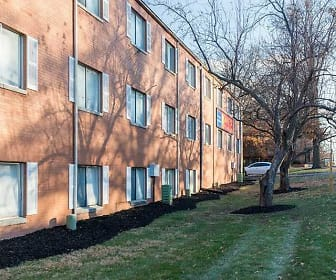 Building, Campus View Apartments