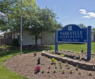 Community Signage, Parkville Apartments