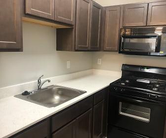 Kitchen, 439 Selden Apartments