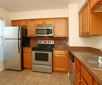 Kitchen, The Jamestown Apartments