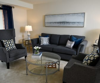 Living Room, Cromwell Valley Apartments