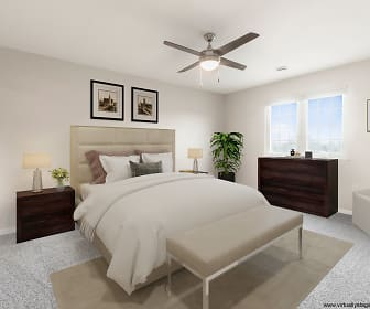 Bedroom, Southwind Prairie Apartment Homes