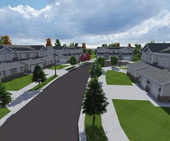 Building, Michigan Meadows Townhomes