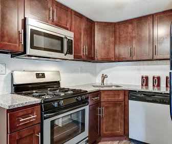 Kitchen, Village of Pennbrook Apartments