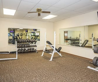 Fitness Weight Room, Eagle Park Apartments