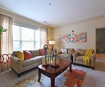 Living Room, Brewers Yard Apartments