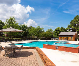 Pool, The Reserve At Research Park Apartments