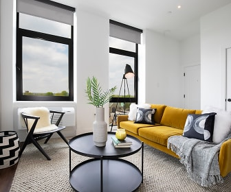 Living Room, The Irvine Apartments