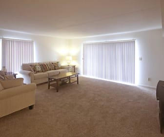 Living Room, Viewpointe Apartments