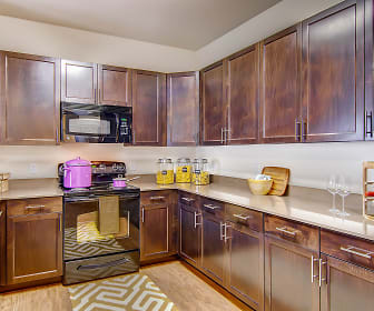 Kitchen, M2 Apartments