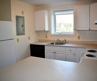 Kitchen, Cedarwoods Apartments