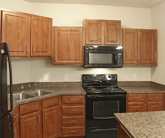 Kitchen, Lakeville Woods Apartments
