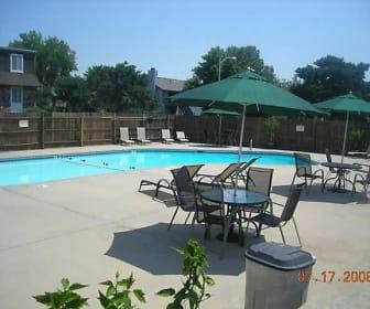 Pool, Clairborne Court Apartments