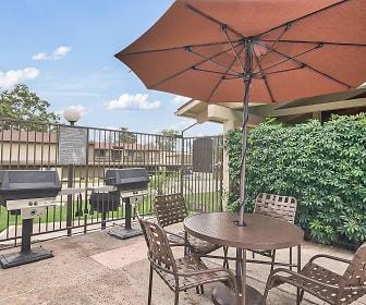 view of patio, Raintree Apartment Homes