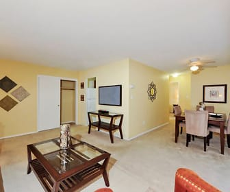 Living Room, Towson Crossing Apartment Homes