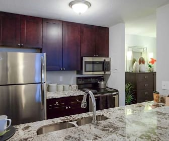 Kitchen, Merriam Park Apts