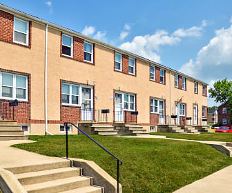 Westland Gardens Apartments & Townhouses, University of Maryland Baltimore County, MD