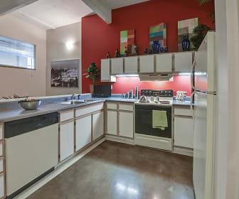 Kitchen, St. Clair Lofts