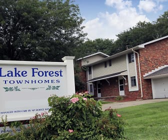 Community Signage, Lake Forest Townhomes