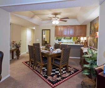 Kitchen, Seasons Three Apartments