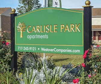 Community Signage, Carlisle Park Apartments