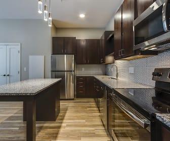 Kitchen, RoCo Apartments