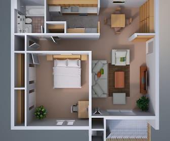 Roxalana Hills Apartments, Sissonville, WV