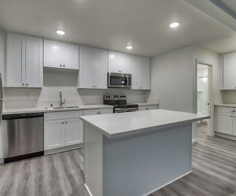 Kitchen, Whispering Pines Apartments