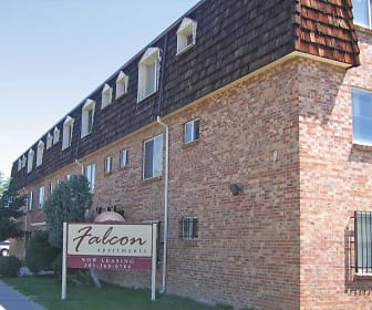 Building, Falcon Apartments
