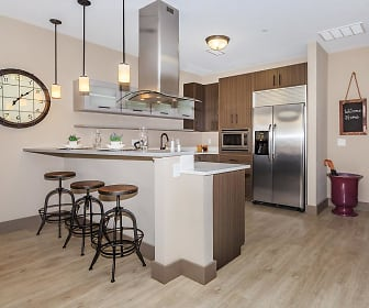 Kitchen, Crocker Park Living Apartments
