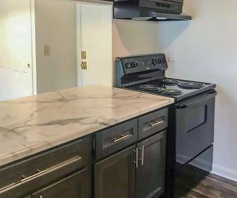 Kitchen, CityVue @ 5101 Apartments