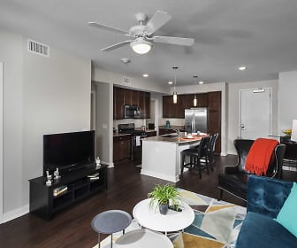 1BR Orchard <BR>Living/Kitchen area, Residences at 62W