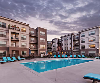 Pool, Water Street Apartments
