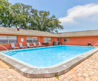 Pool, Windtree Apartments