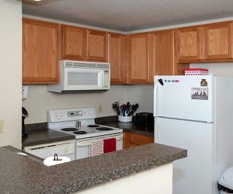 Kitchen, Bierman Place Apartments