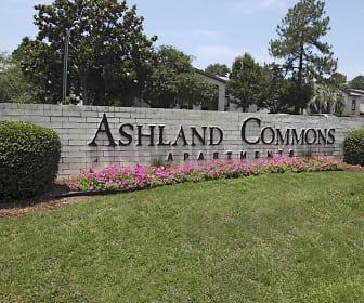 Exterior-Community Signage, Ashland Commons