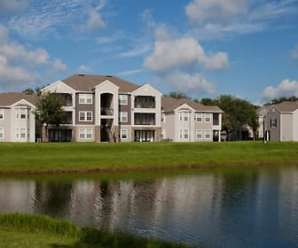 Exterior 3-story, Osprey Links at Hunters Creek Apartments