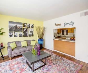 Living Room, Bella Vista Townhomes