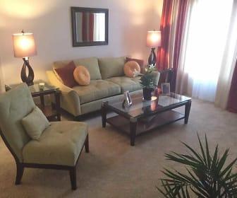 Living Room, Indigo Pines Apartments