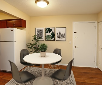 Dining Room, Boulder Court Apartments