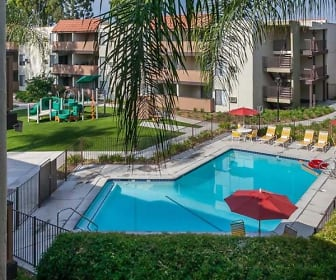 Pool View from Your Balcony, California Villages In Pico Rivera