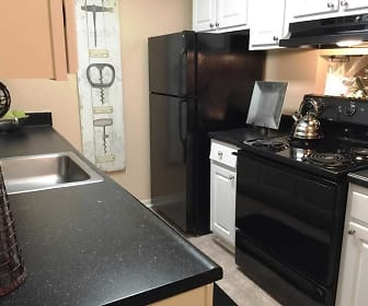 Kitchen, Forest Cove Apartments