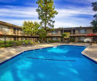 Pool, Saddleback Pines Apartment Homes