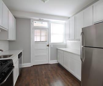 Kitchen, 1026 Washington Apartments