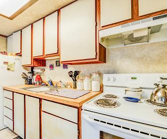 Kitchen, Willowwood Apartments