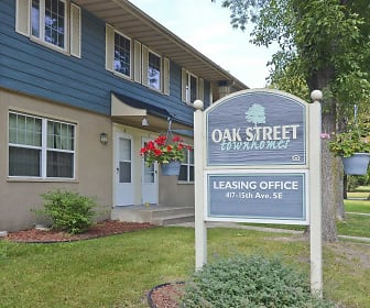 Community Signage, Oak Street Townhomes