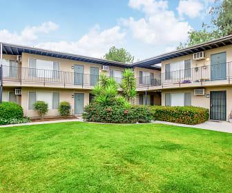 Building, Pine Villa Apartments