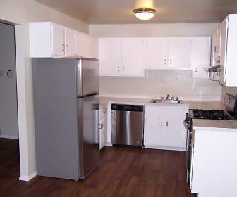 Kitchen, Cityside Townhomes
