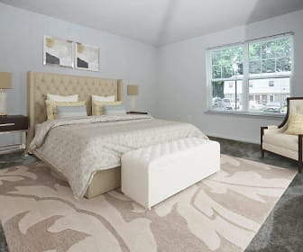 Bedroom, The Fairways Apartment Homes